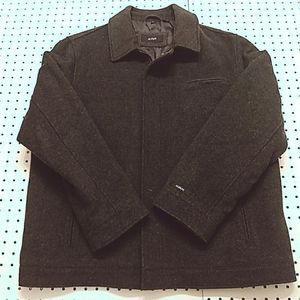 Alfani Wool Blend Coat, Size Large